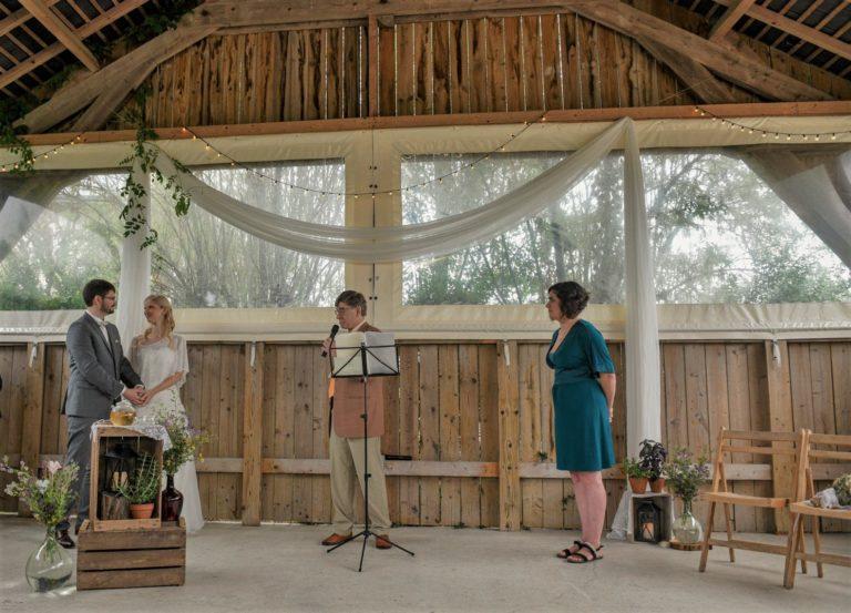 idee decoration naturelle fleurs des champs mariage ceremonie