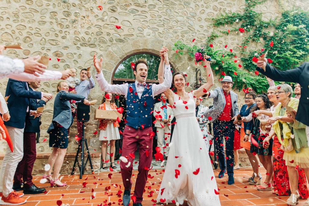 sortie ceremonie mariage famille