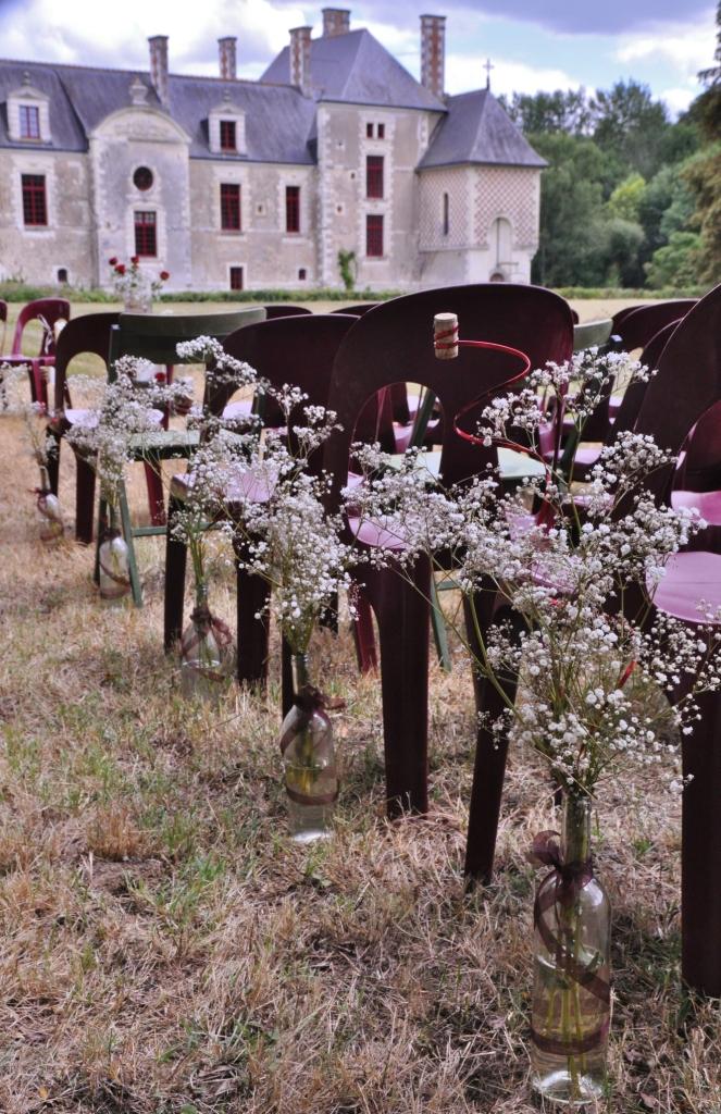 mariage celebration decoration chateau loire
